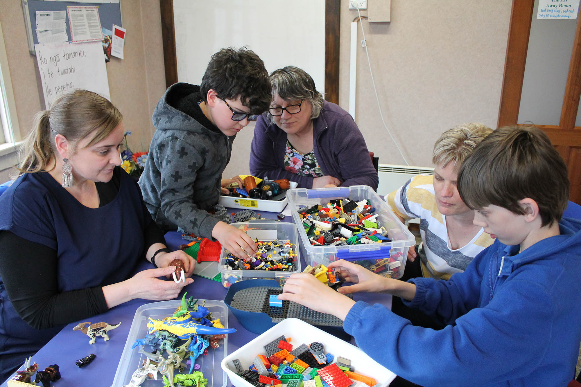 Lego play among services offered by Autism New Zealand