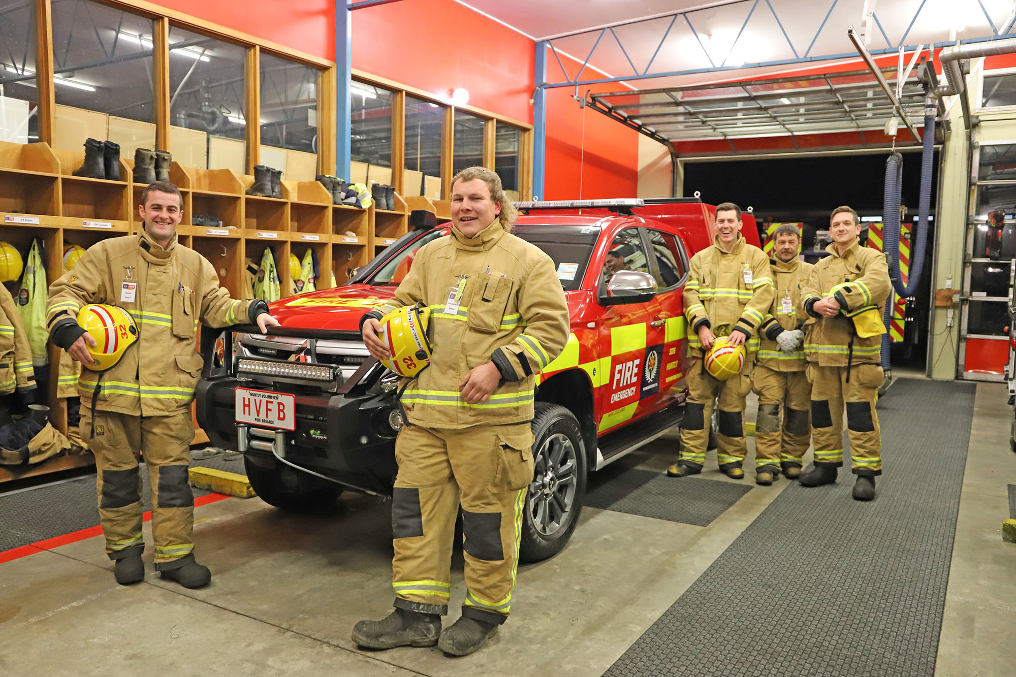 The Huntly Volunteer Fire Brigade